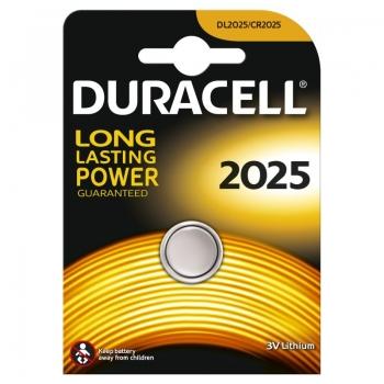 Patarei Duracell tabl.CR2025 3V lithium