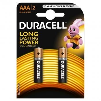Patarei Duracell AAA 2tk 1,5V alkaline