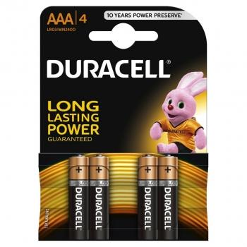 Patarei Duracell AAA 4tk1,5V alkaline