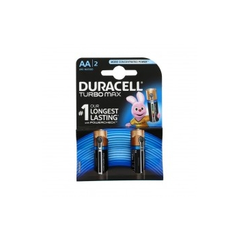 Patarei Duracell AA 2tkTurbomax 1,5V