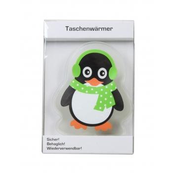Kätesoojendaja Pingviin 14cm roheline