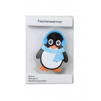 Kätesoojendaja Pingviin 14cm sinine