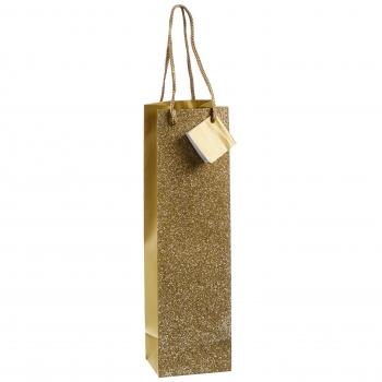 Pudelikott 35x10x8cm Glam kuldne