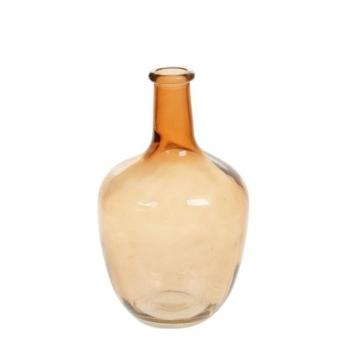 Dek.pudel klaasist Bess 25cm pruun
