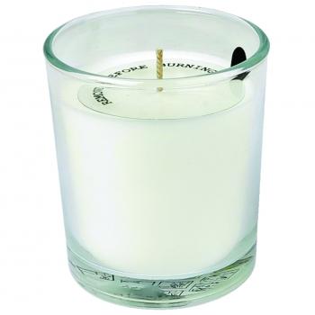 Küünal klaasis Ø74x83mm matt valge