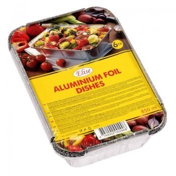 Alumiiniumfoolium.vorm. 850ml/6tk Elise