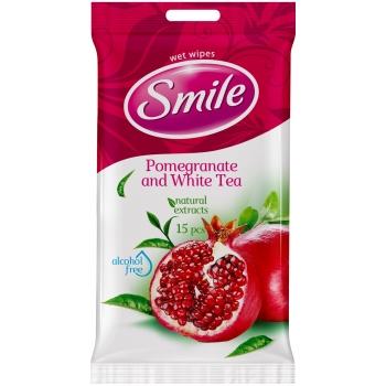 Niisked salvrätikud Smile15tk granaatõun