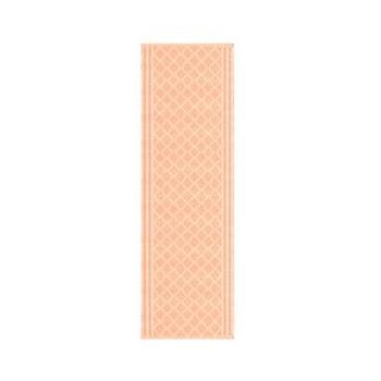 Linik Ruudud 35x135cm lõheroosa