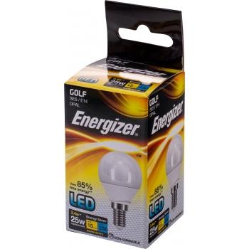 LED lamp Energ.3,4W 827 E14 250lm dekor