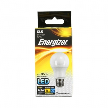 LED lamp Energiz.5,6W 827 E27 470lm matt