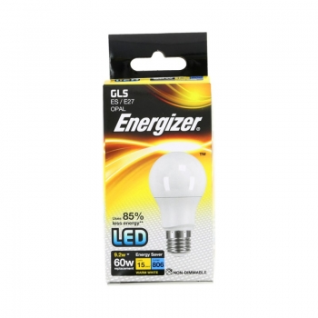 LED lamp Energiz.9,2W 827 E27 806lm matt