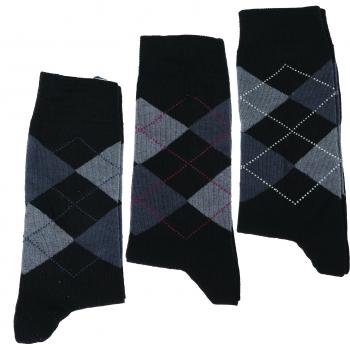 Sokid meeste 3paari Šoti ruuduline 39/42