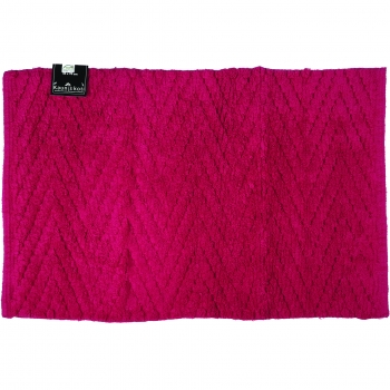 Vannitoamatt 50x70cm Zigzag roosa