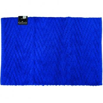 Vannitoamatt 50x70cm Zigzag sinine