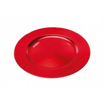 Dekoratiivalus 33cm punane plastik