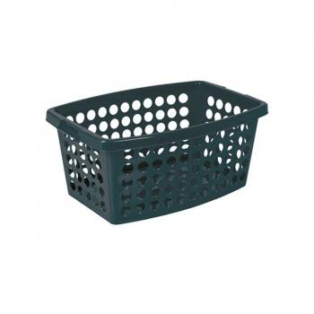 Pesukorv plast tumehall 40L