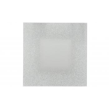 Küünlaalus Peegel 20cm hõbe