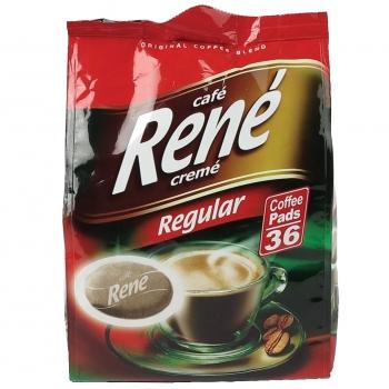 Kohvipadjad Rene klassikaline röst 36tk