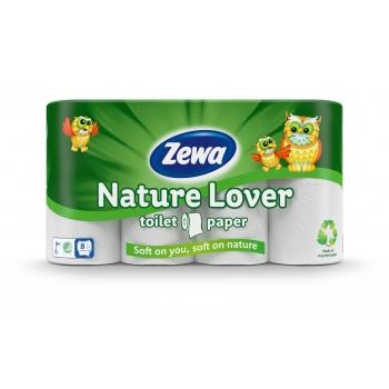 Tualettpaber Zewa Nature Lover 8rulli