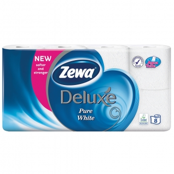 Tualettpaber Zewa Deluxe 8rulli