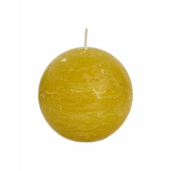 Lauaküünal Rustik Ø80mm 24h Pall kollane