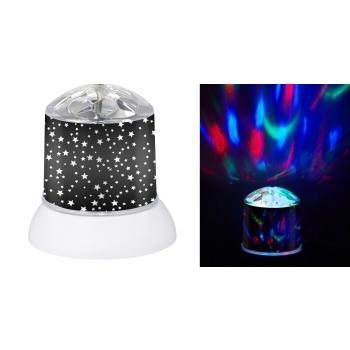 Diskopall LED 11x12cm 3xAA