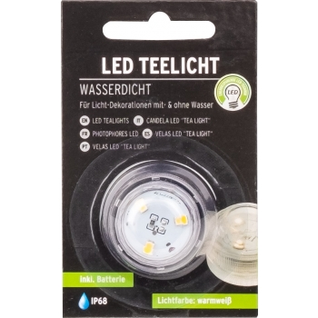 Teeküünal LED 2xCR2032