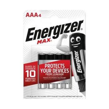 Patarei Energizer Max AAA (LR03) 4tk