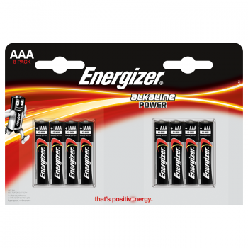 Patarei Energizer Power AAA (LR03) 8tk