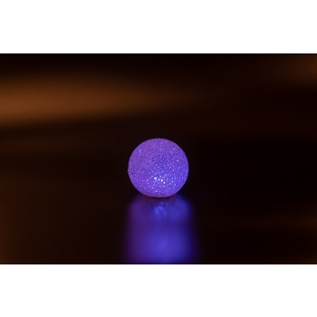 Valgusdekoratsioon Lumepall LED 8cm värv