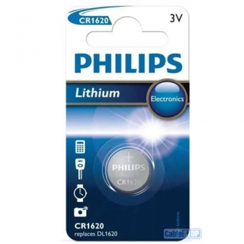 Patarei Philips Coin Lithium CR1620 3.0V