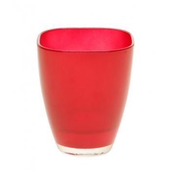Vaas Bombay klaas13cm veinipunane