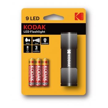 Taskulamp Kodak 9-LED/3 AAA EHD must