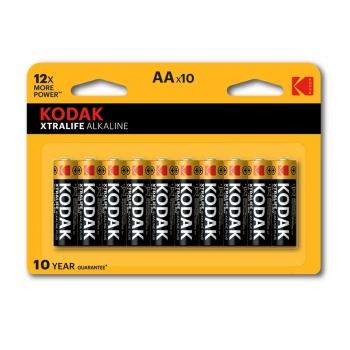 Patarei Kodak Xtralife AA/10tk