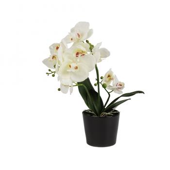 Kunstlill Real Orhidee 46cm potis