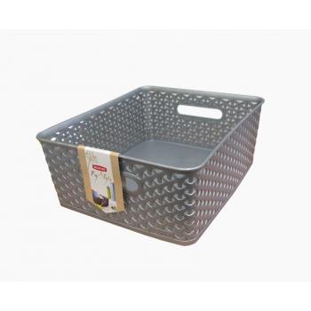 Korv My Style keskmine 35x30x13cm hõbe