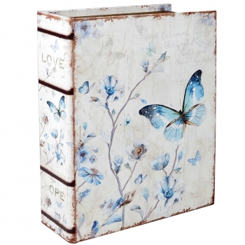 Raamat-karp Liblikas 24x18x6cm