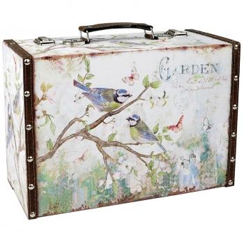 Hoiukohver Linnud 34,5x24,5x14cm