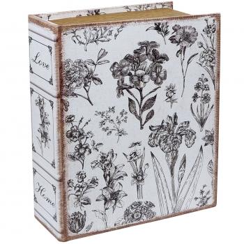 Raamat-karp Lilled 18x12x4cm