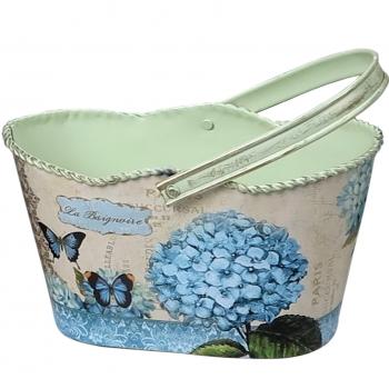 Hoiukorv sangaga Sinine hortensia S