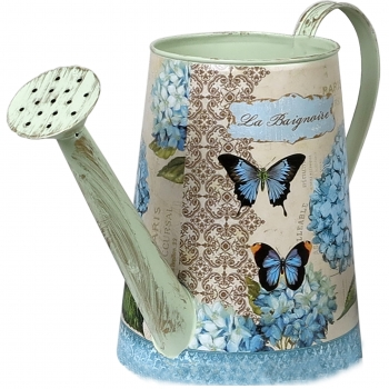 Dekoratsioon Kastekann Sinine hortensia