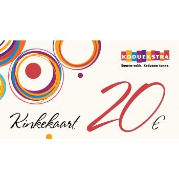 Kinkekaart 20EUR