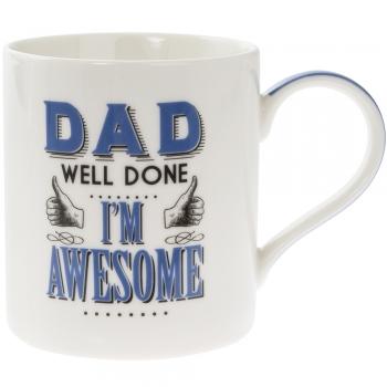 Kruus Dad Im Awesome 9.5cm x 8.5 cm