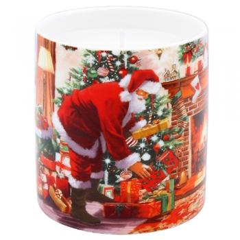 Lõhnaküünal Jõuluvana 10cm