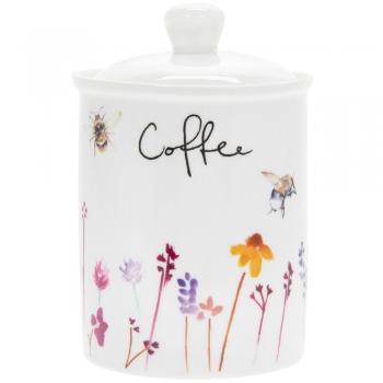 Säilituspurk kohvi jaoks, keraam.Mesilan
