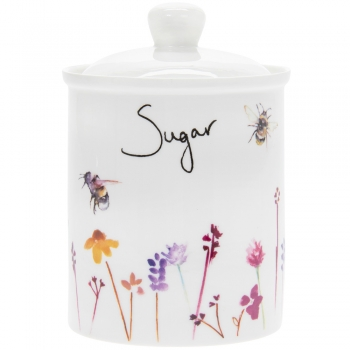Säilituspurk suhkru jaoks,keraam.Mesilan