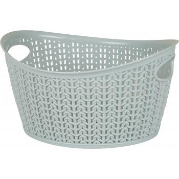 Plastkorv kootud Knitty 3,3L ovaal hall