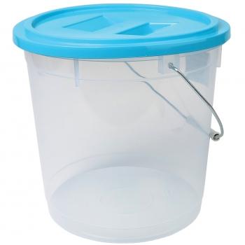 Ämber kaanega 13L plastik