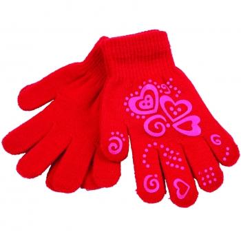 Sõrmkindad lastele Süda punane 2paari