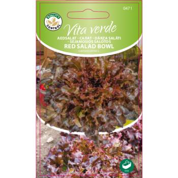 Lehtsalat Red Salad Bowl Vita Verde 1g